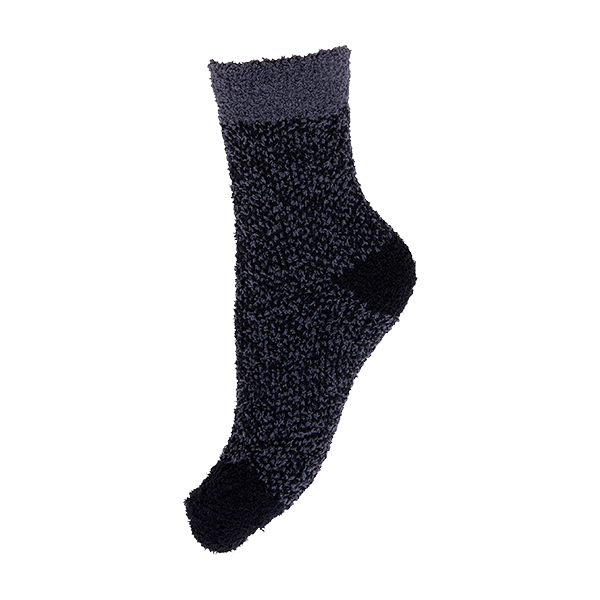 Cosy soft socks, dark grey