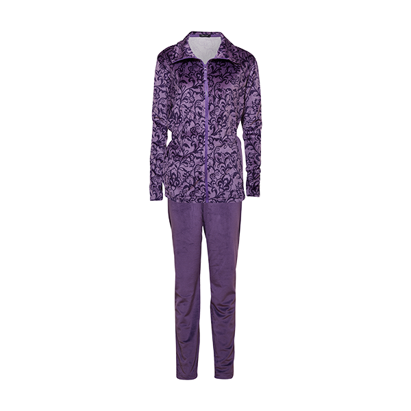 Velour set, purple